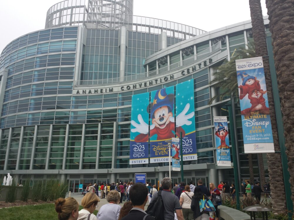 Arriving for Day 3 of the #D23Expo