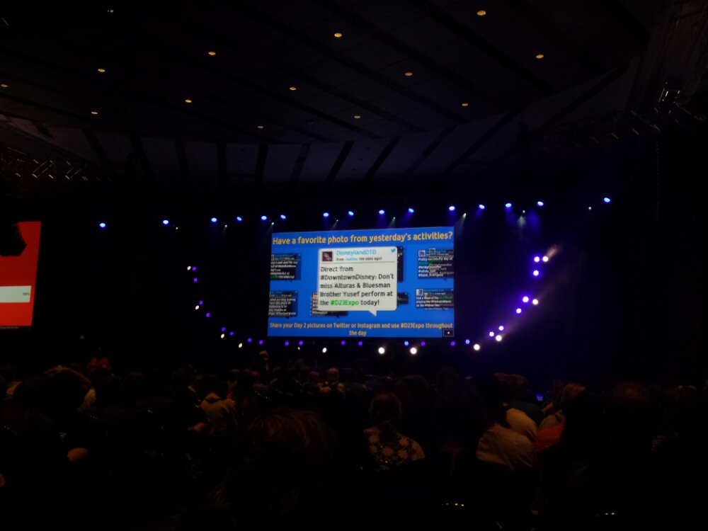Waiting for the Work with Walt WDI session #D23Expo