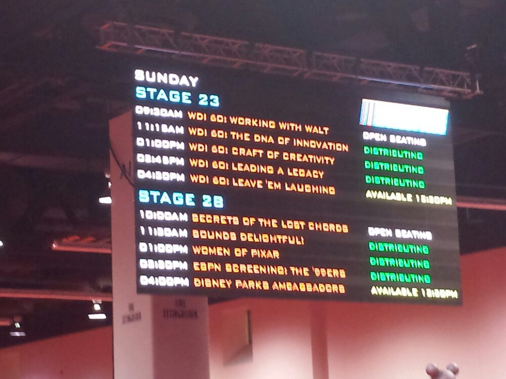 StagePass is still available for all sessions #D23Expo