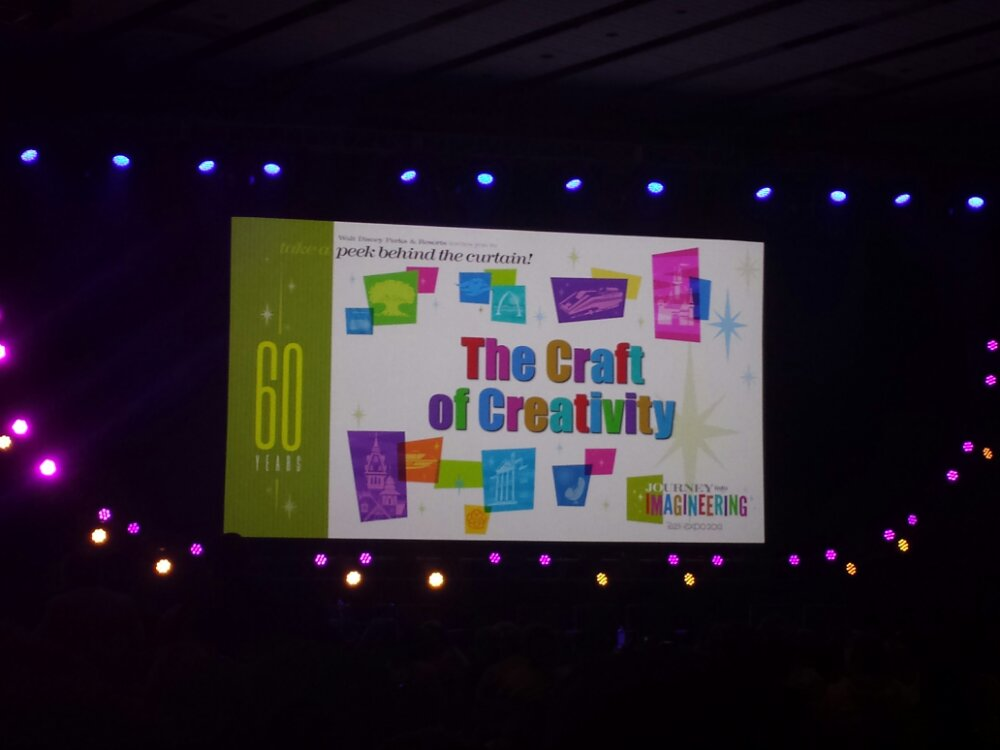 Craft of Creativity title slide #D23Expo