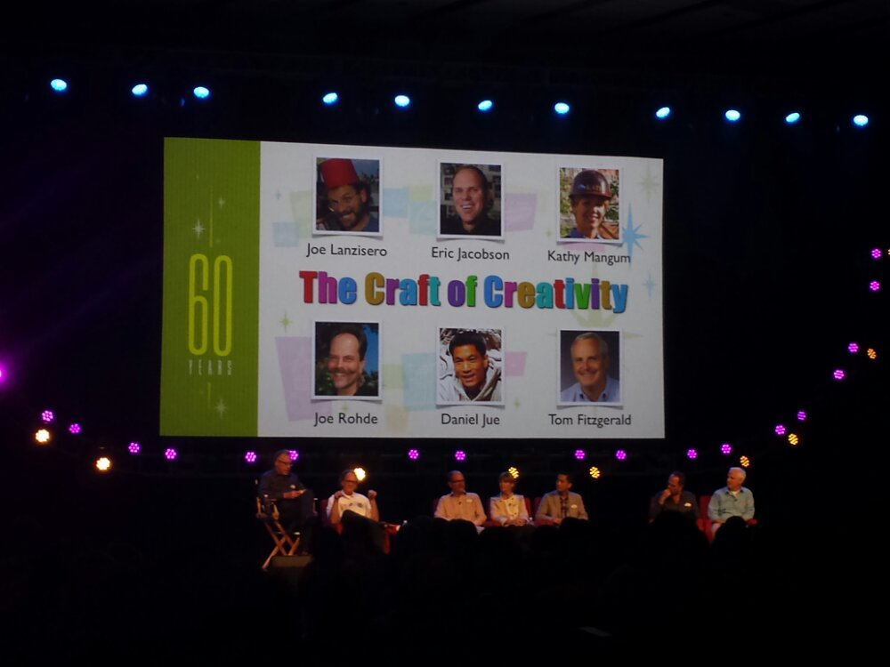 The Craft of Creativity Panel #D23Expo