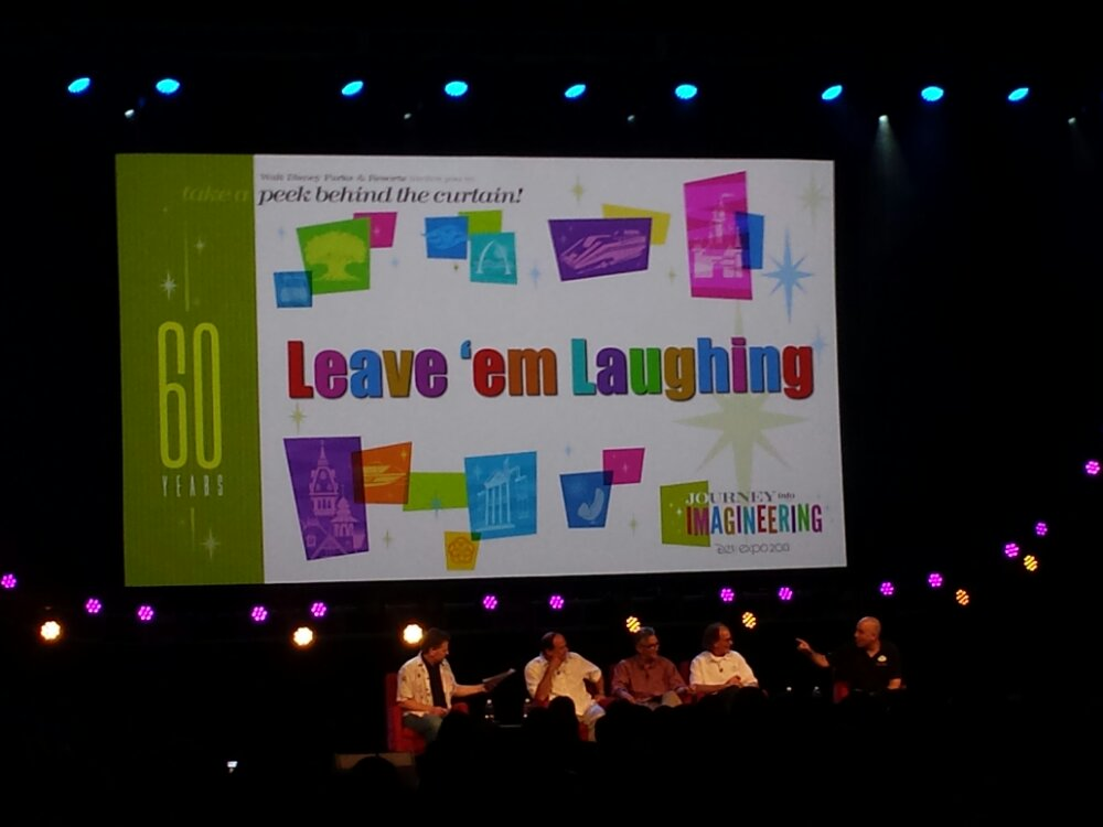 Leave em Laughing – Dave Fisher, Kevin Rafferty, George Scribner, Joe Lanzisero, and Jason Surrell #D23Expo
