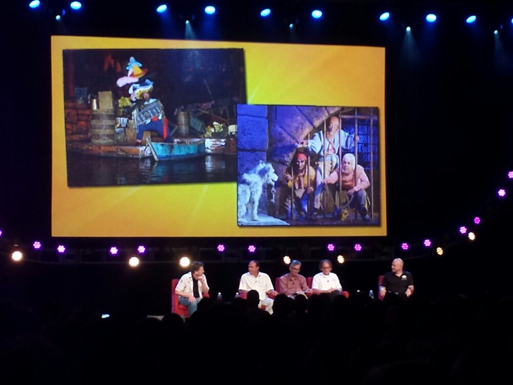 Discussing bringing humor into the park, Mark Davis – #D23Expo