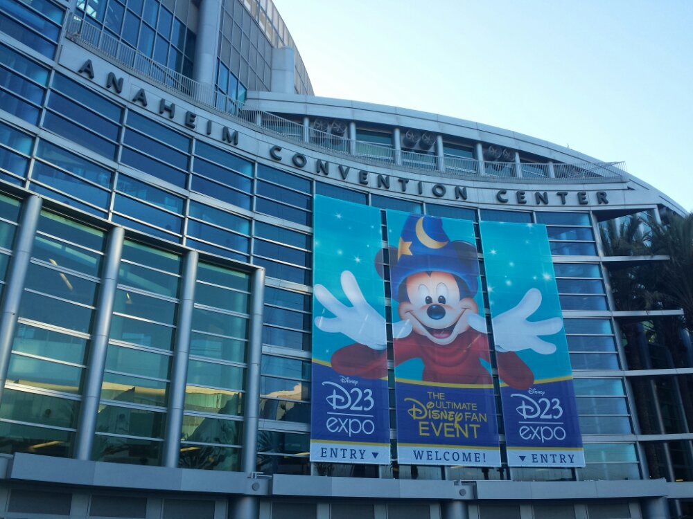 One the way out of the #D23Expo wrapping up 3 long days. Thanks for following along