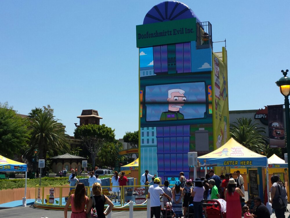 The Waffle-inator is in the Downtown Disney valet area this weekend