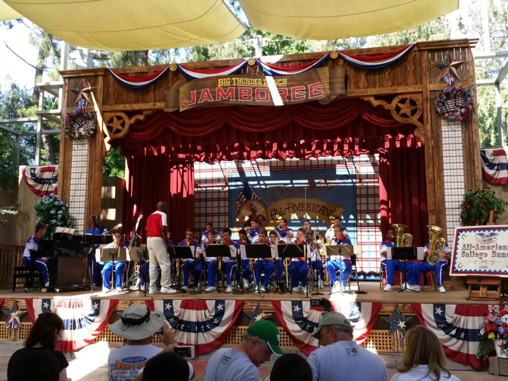 The All-American College Band @ Woodys All-American Roundup one last time