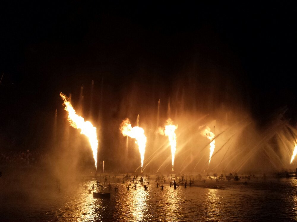 World of Color – Pirate's fire…