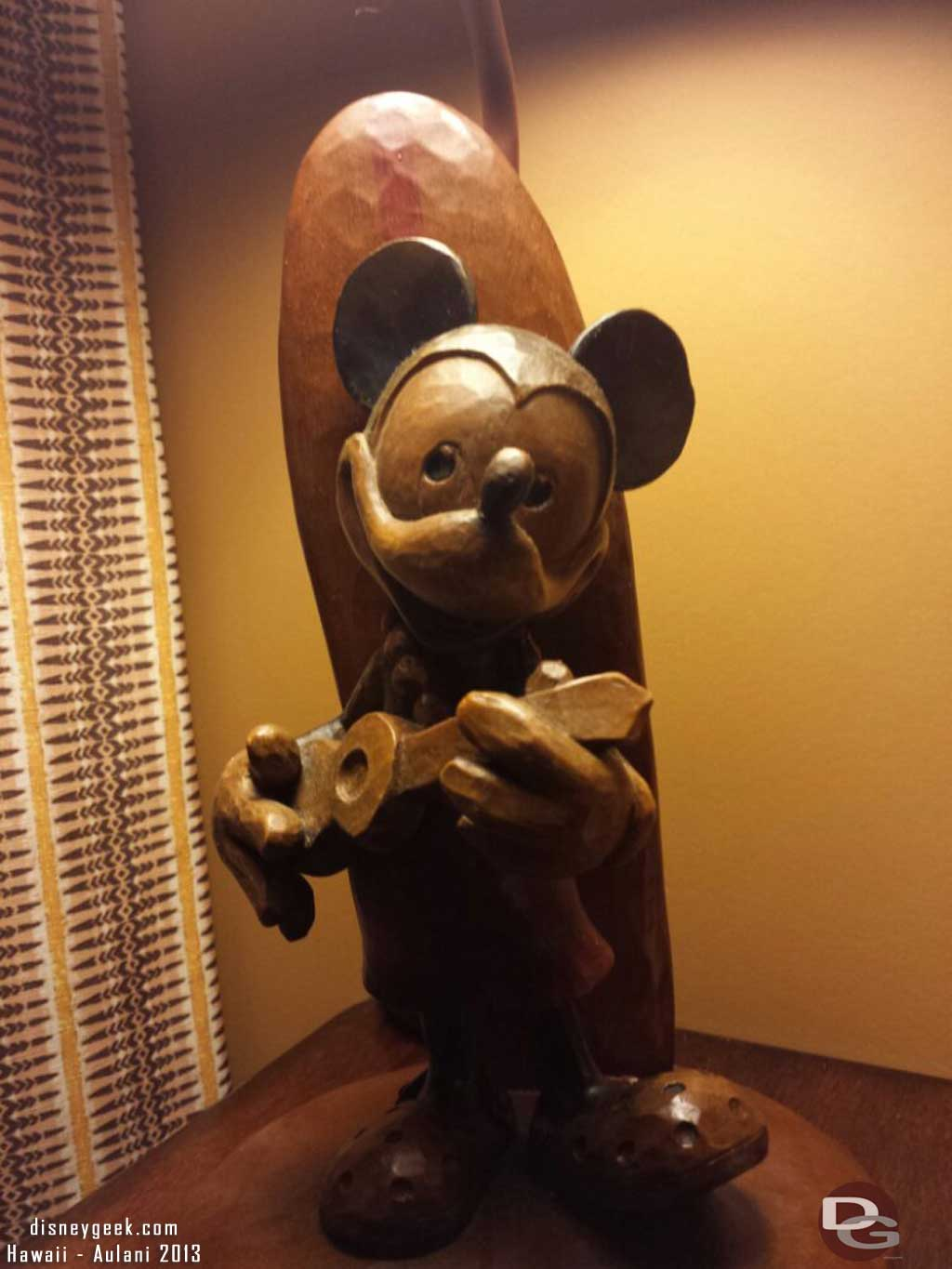 Mickey in our room #Aulani