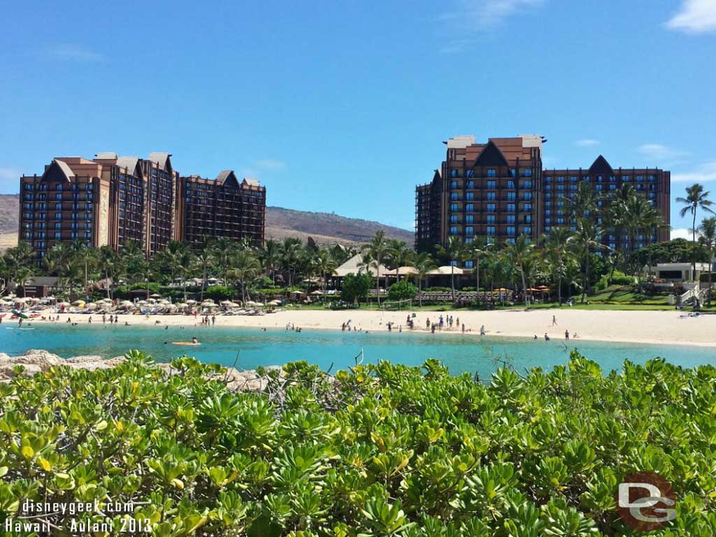 Another look across the lagoon at #Aulani