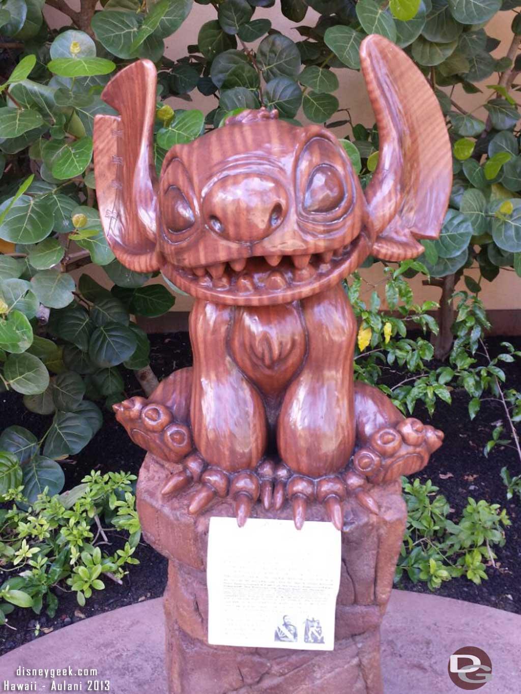 Tiki Stitch #Aulani