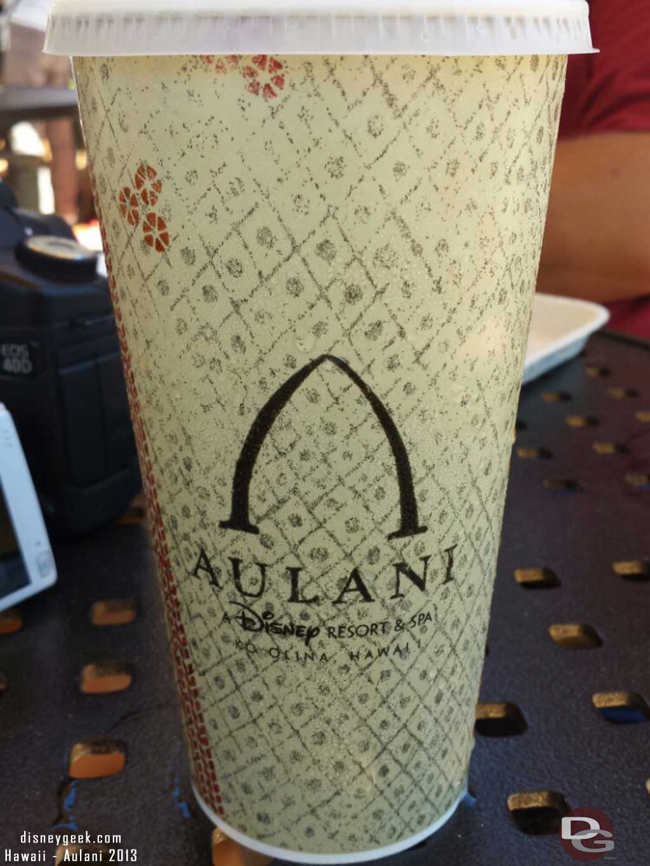 #Aulani softdrink cup