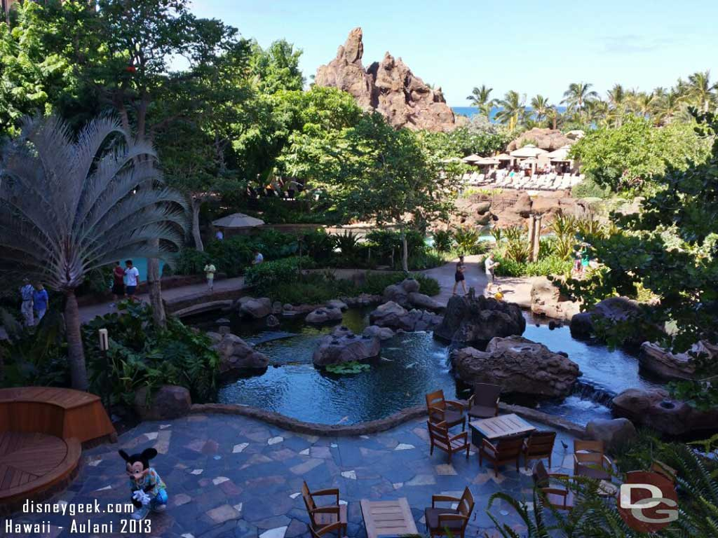 Waikolohe Valley from the lobby #Aulani
