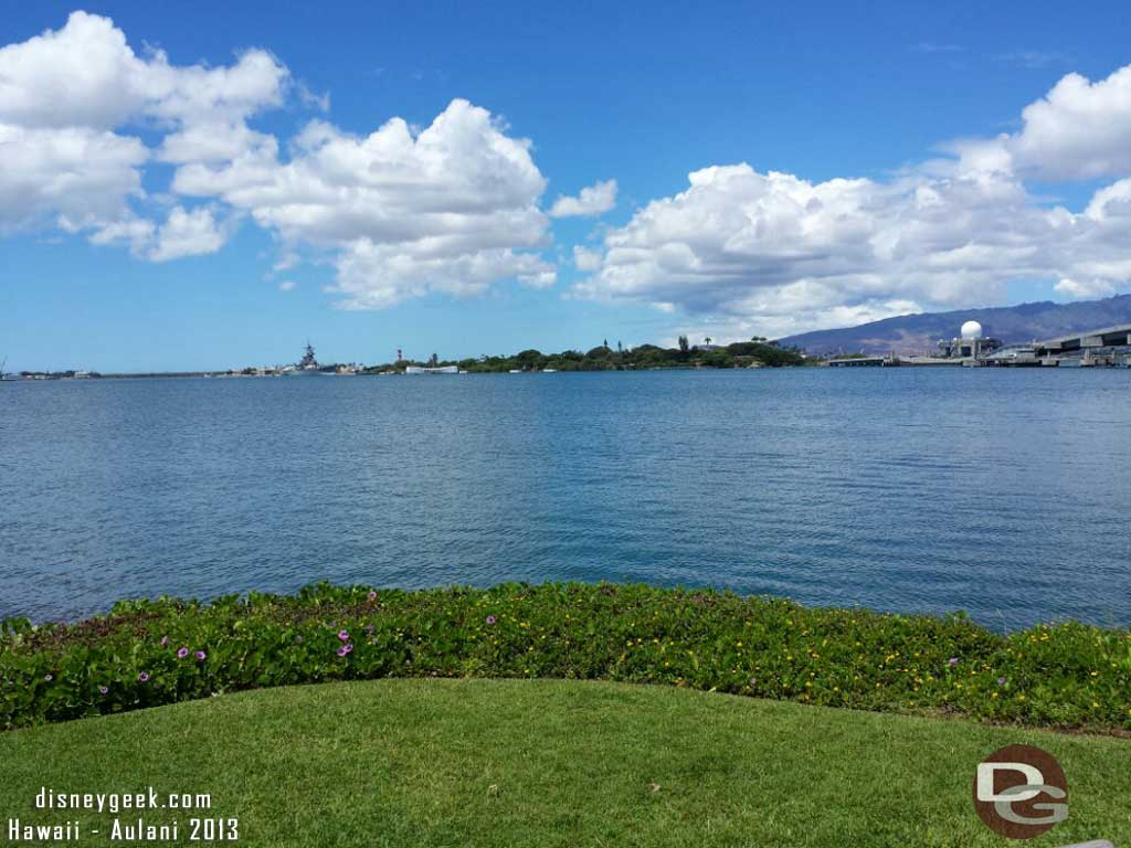 Another wide picture of Pearl Harbor