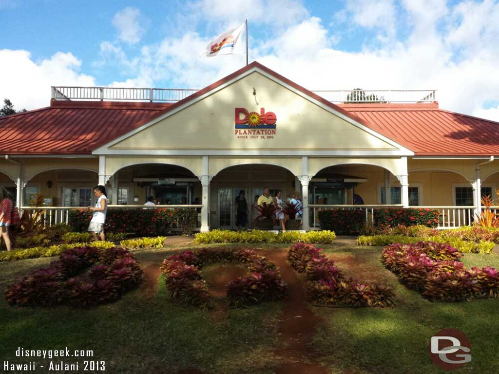 Made a quick stop at the Dole Plantation #Dolewhip #Hawaii