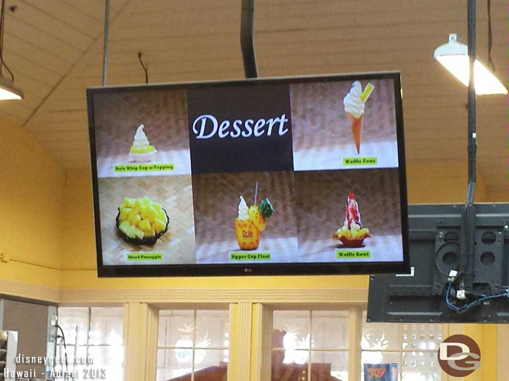 Dole Whip options #Hawaii