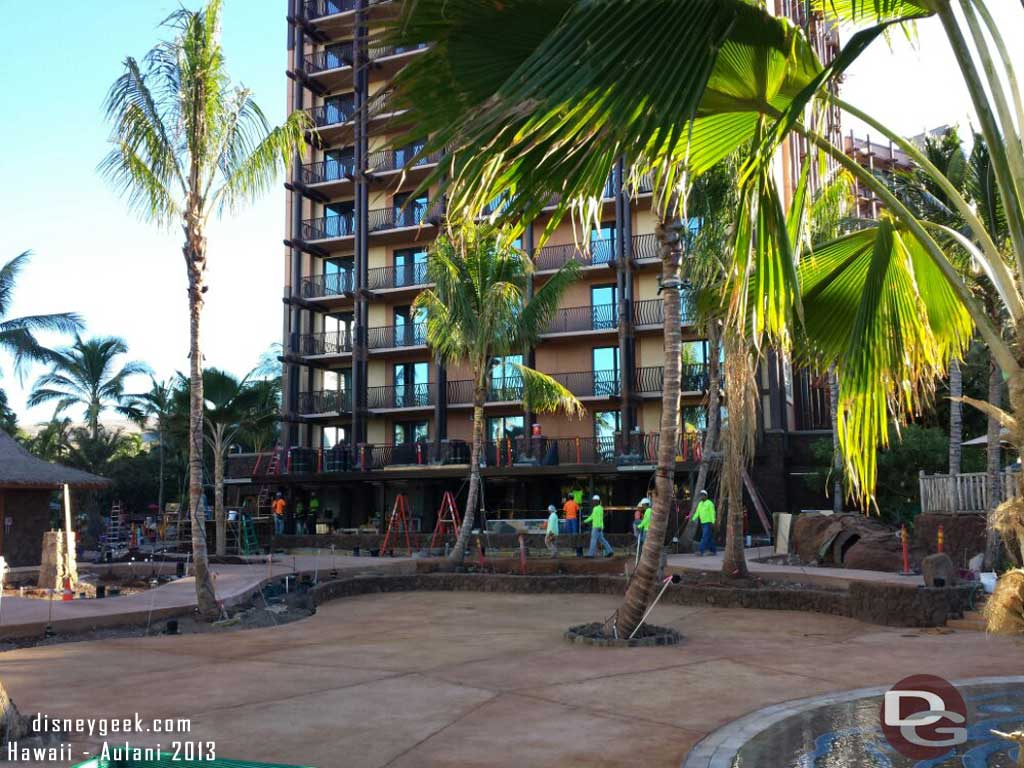 looking toward what will be a new dining option #Aulani
