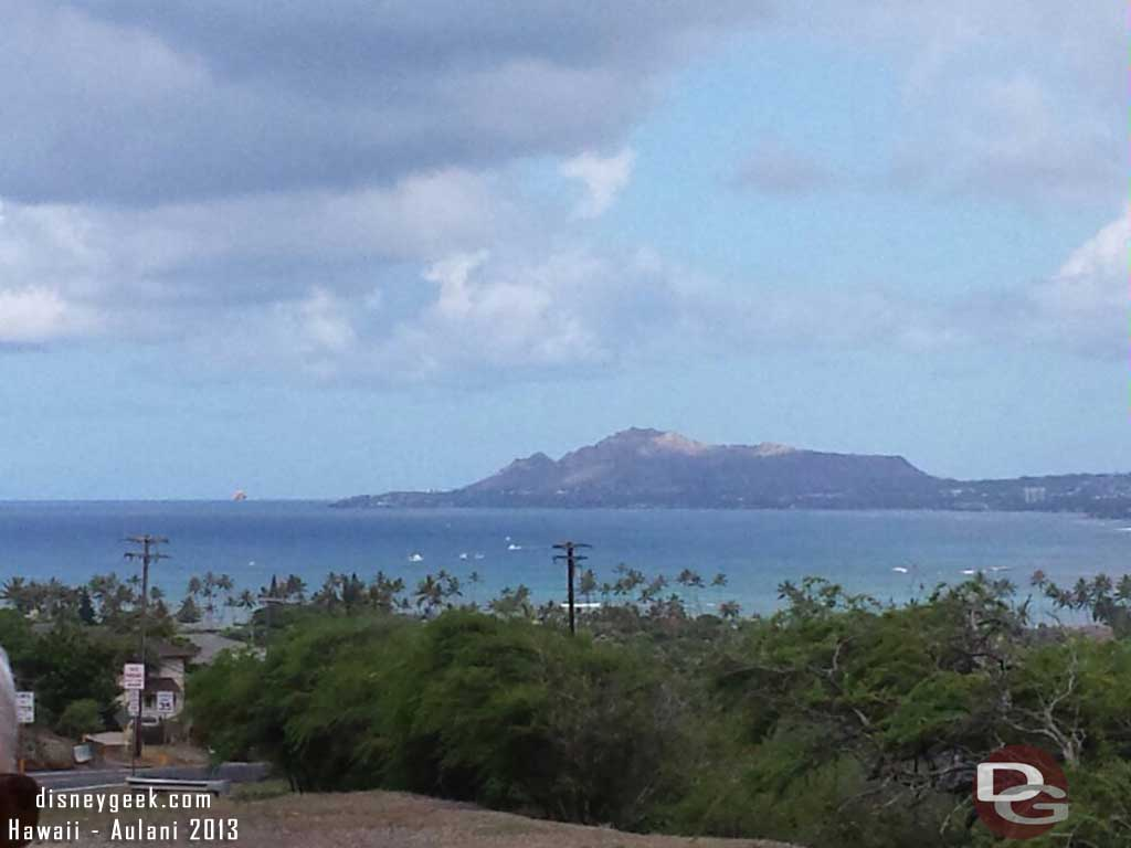 Looking back at Diamond Head #Hawaii