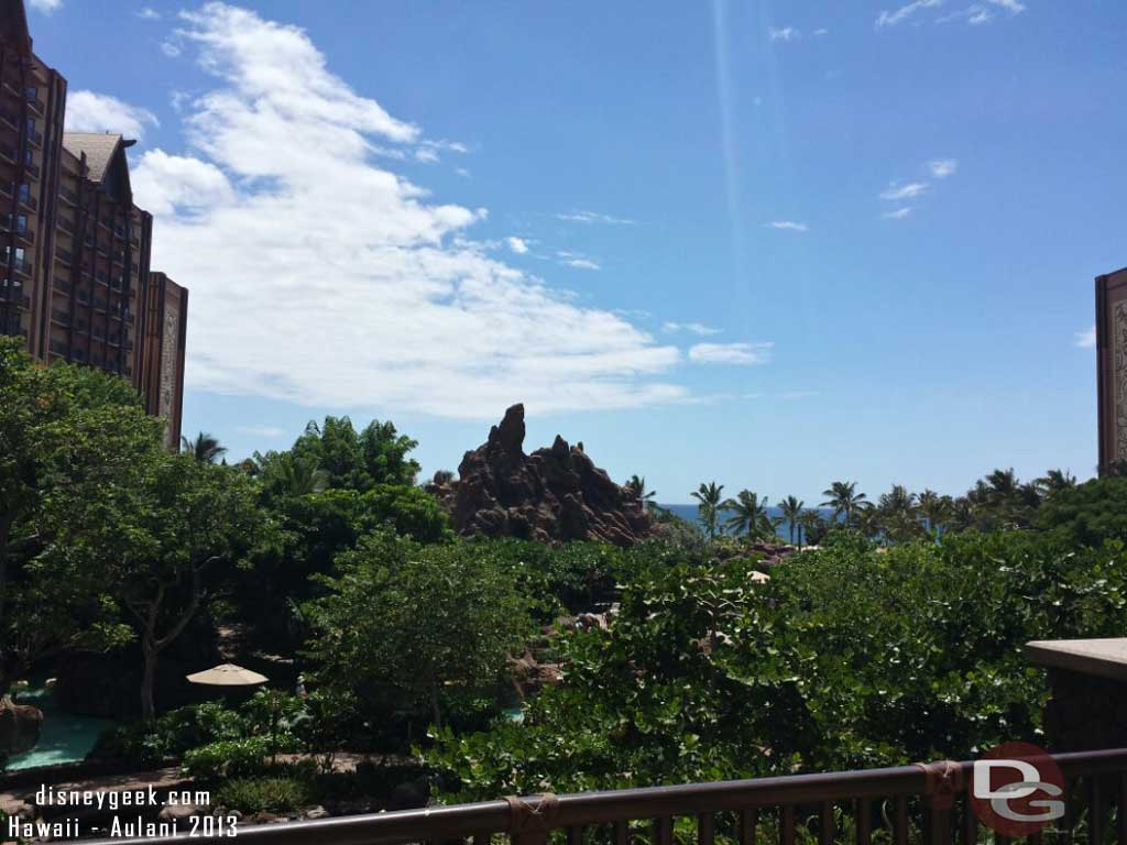 Looking out over the Waikolohe Valley, #Aulani