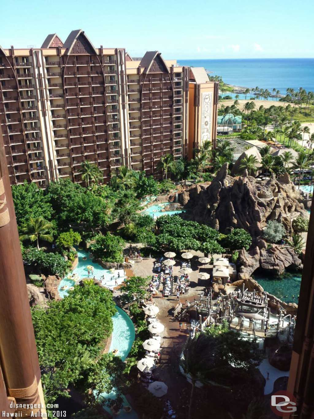Waikolohe Valley from the 16th floor #Aulani
