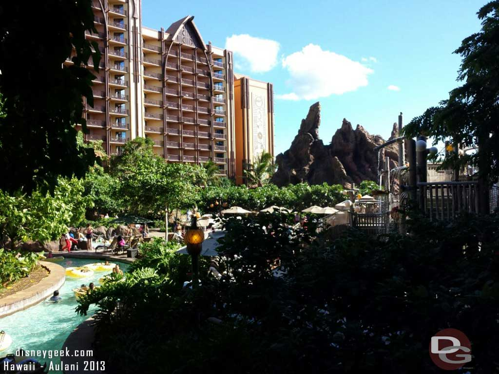 Waikolohe Valley from ground level #Aulani