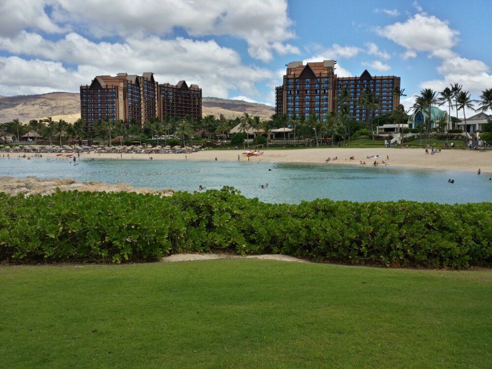 One more #Aulani pic from across before walking back
