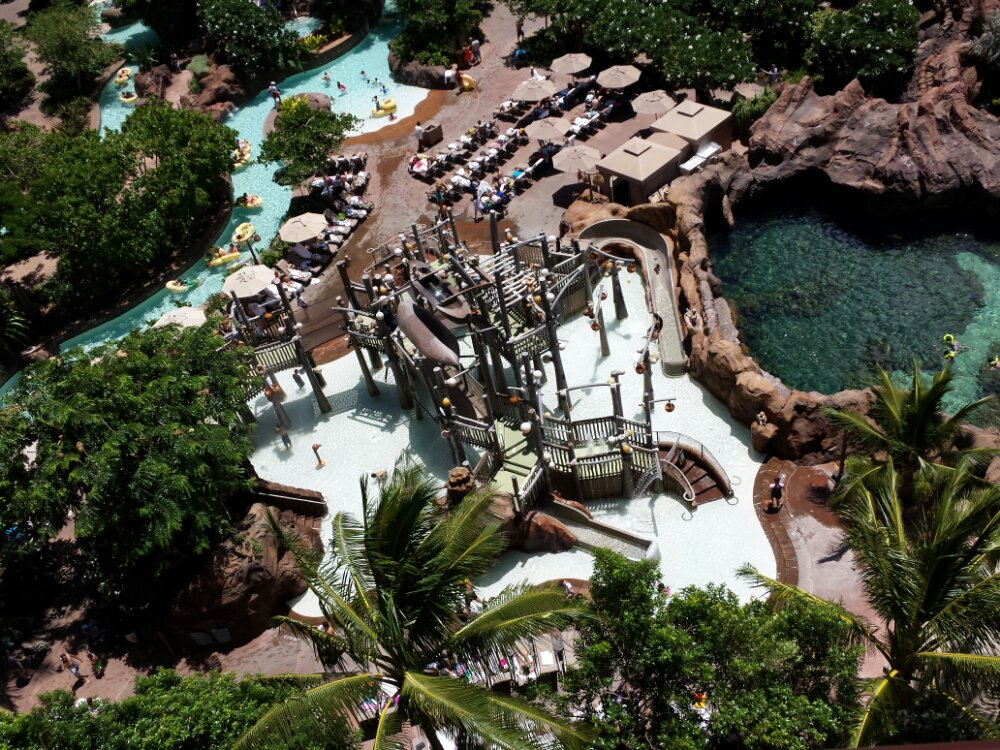 The Menehune Bridge from the 10th floor #Aulani