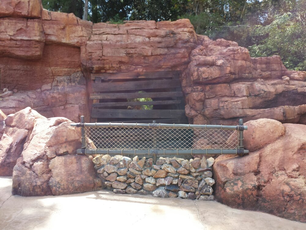 The walkway now features enhanced barriers with stone and/or netting