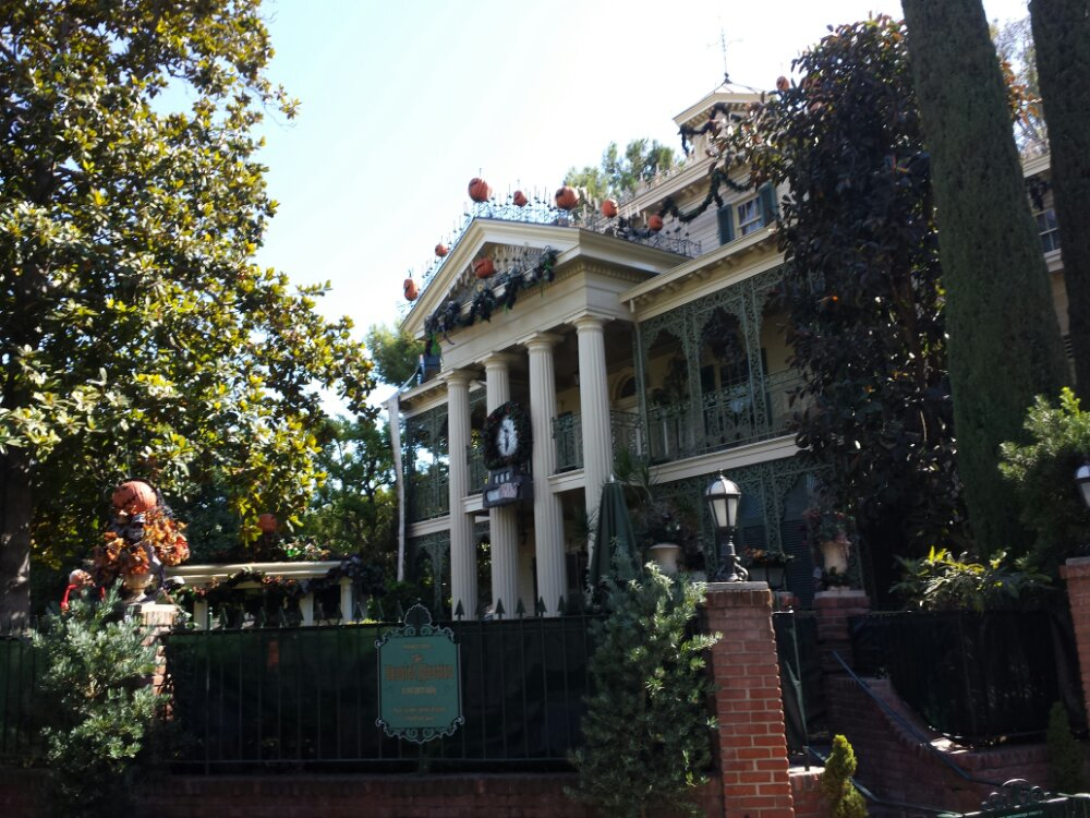 Haunted Mansion is closed for its holiday make over.  It reopens next Friday.