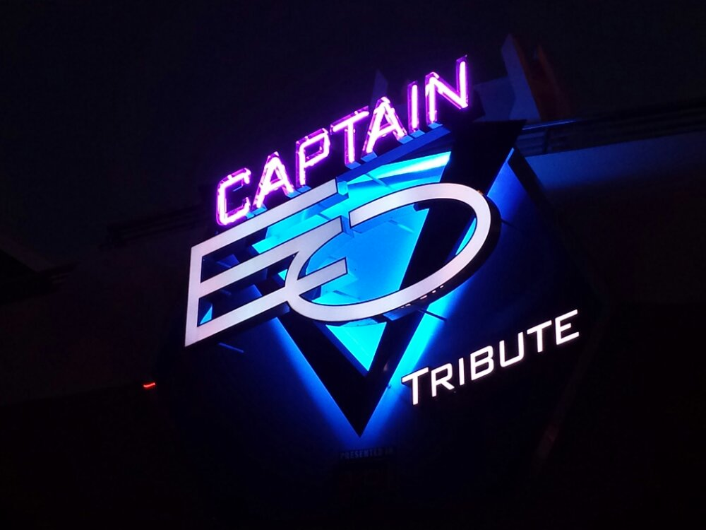 Paid a final visit to Captain EO before it closes next week