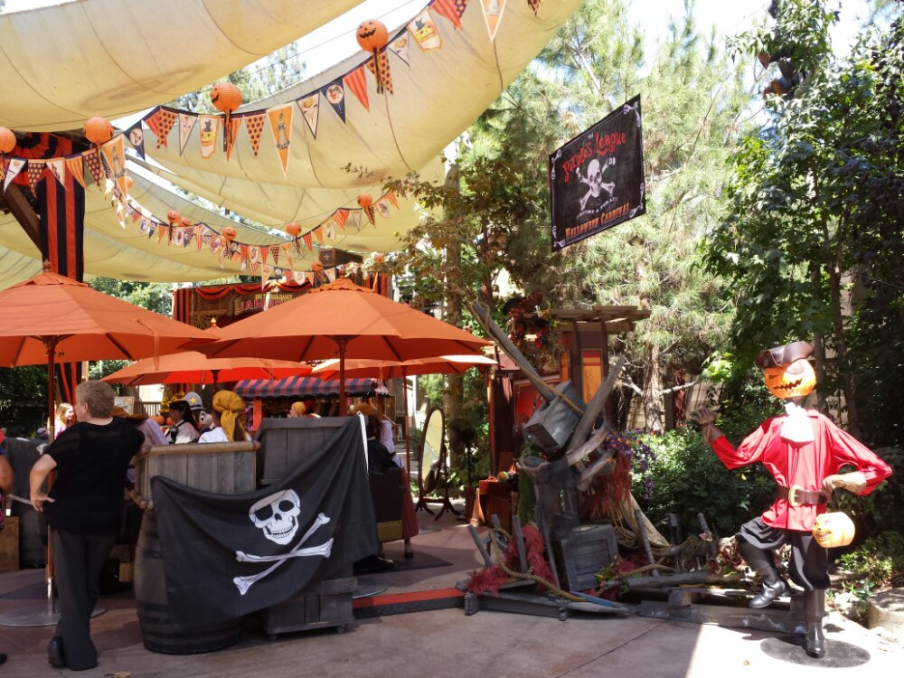 Pirates League is at the Halloween Roundup this year