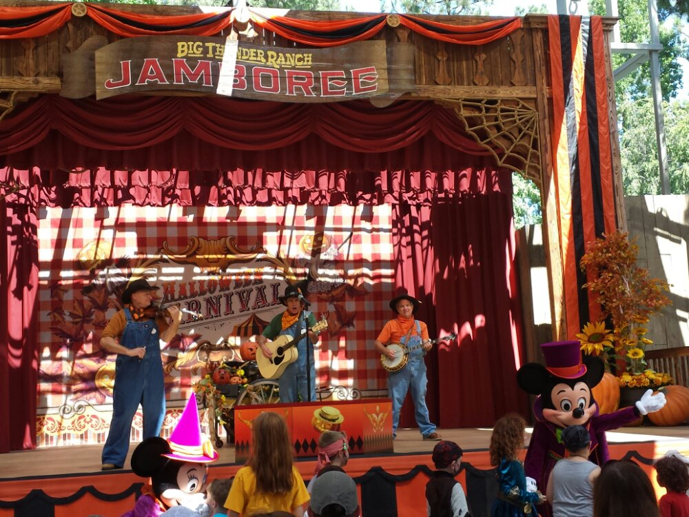 Billy Hill and the Haunted Hillbillies at the Halloween Carnival