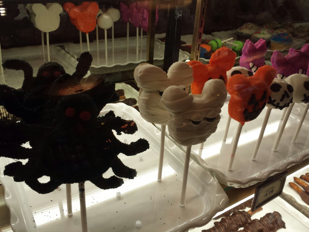 Halloween cake pops at Trolley Treats $4.19