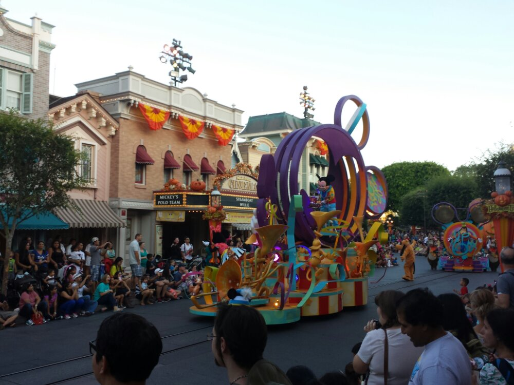 Soundsational did not loop through Town Square because of the dance party setup