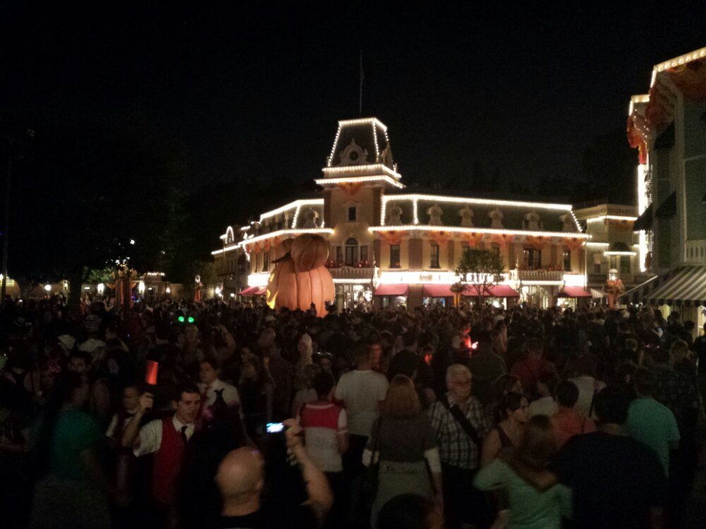 Town Square is very very crowded