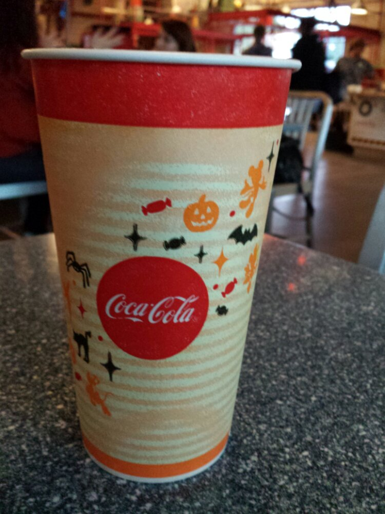 Another side of the Halloween cup
