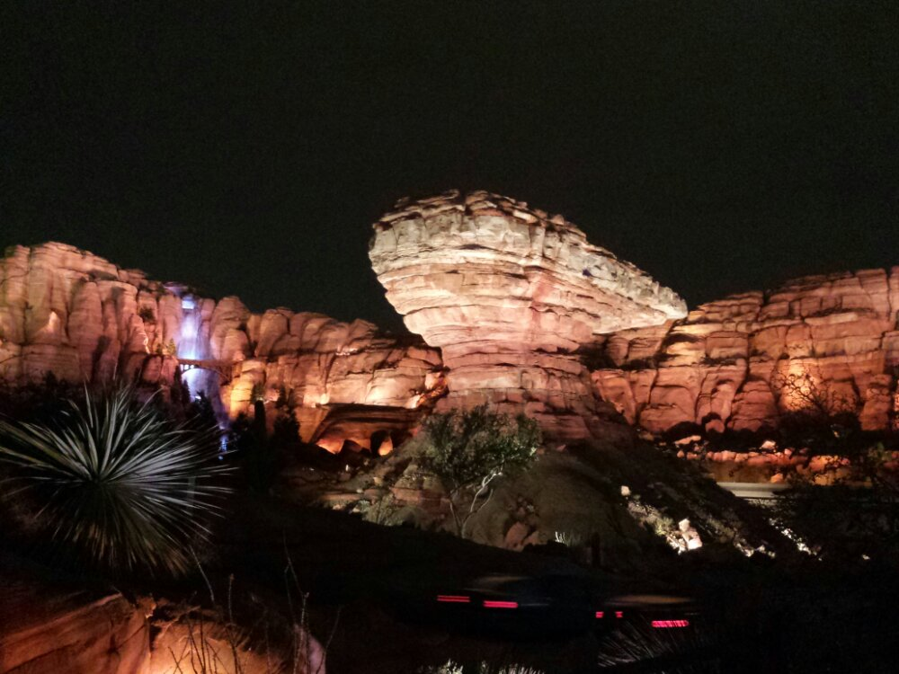 Ornament Valley Willys Butte #CarsLand