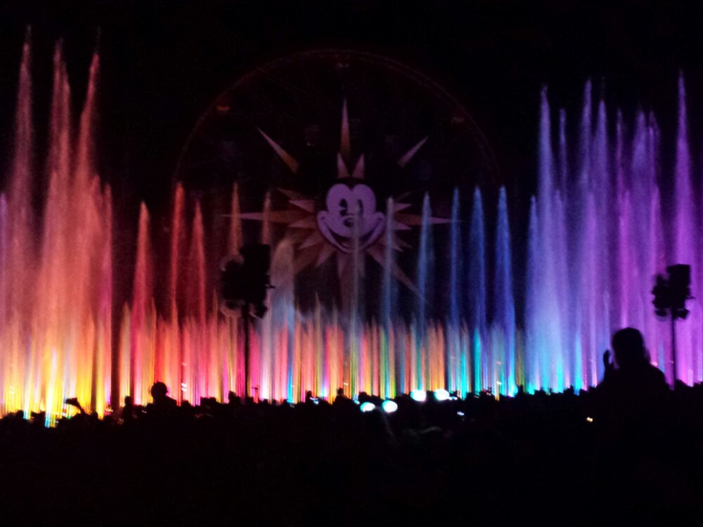 World of Color time!