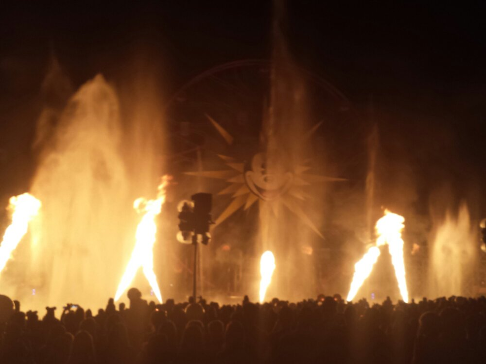 World of Color Pirate's Fire