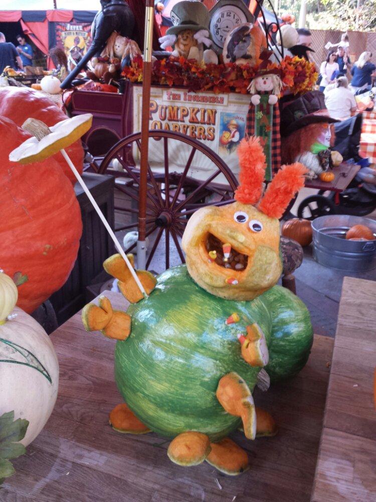 Pumpkin Heimlich @ the Halloween Carnival