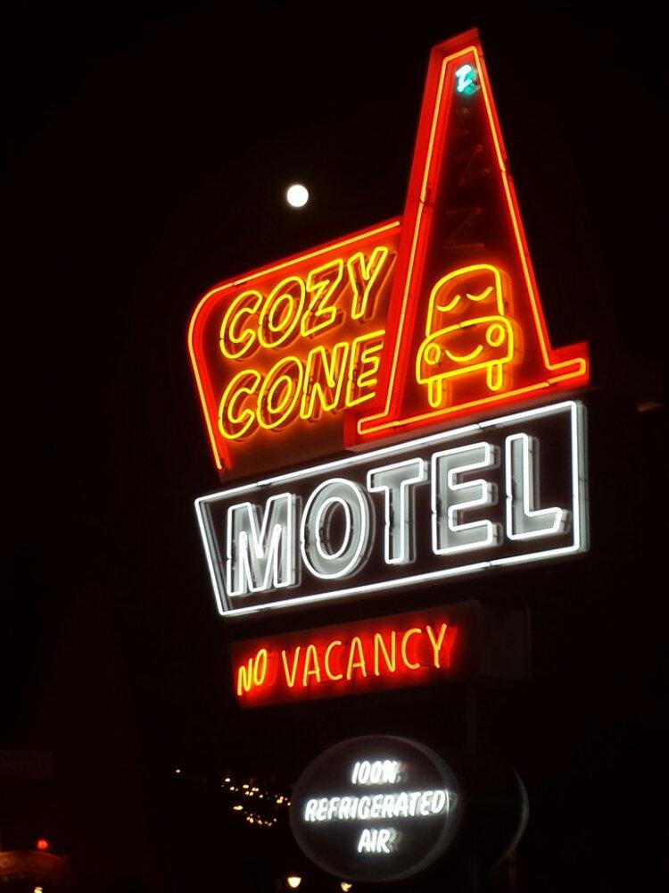 Cozy Cone Neon #CarsLand