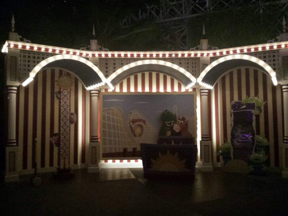 The new Toy Story Meet and Greet location