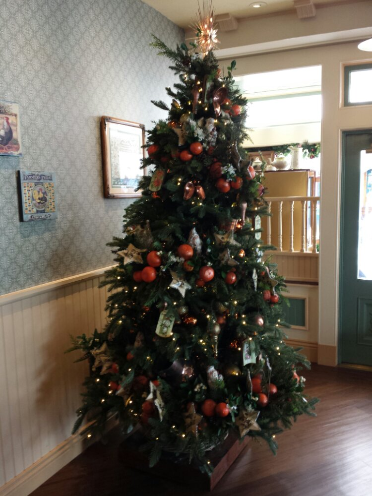 Christmas tree in the Market House