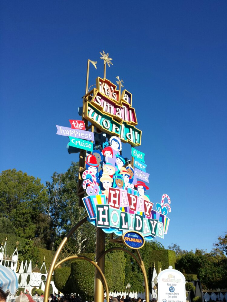 Small World Holiday opened today