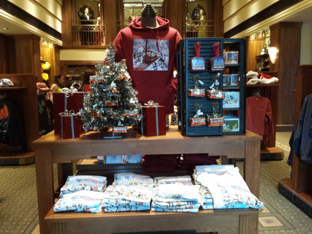 Some Holiday merchandise in Elias and Co