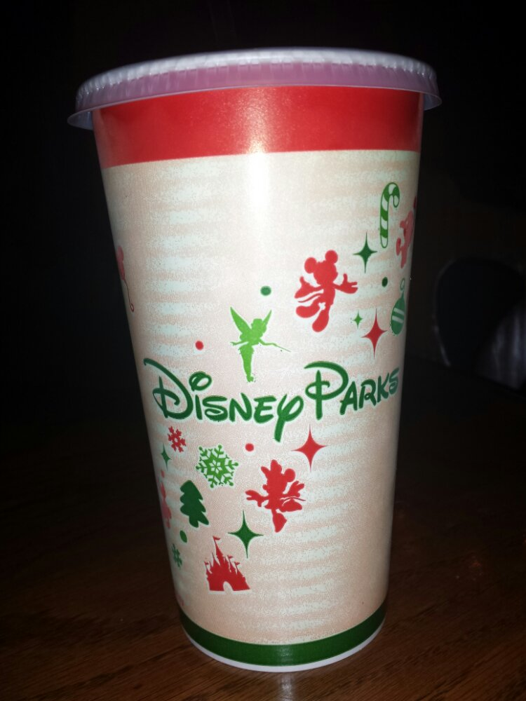 The holiday cups in the parks this year
