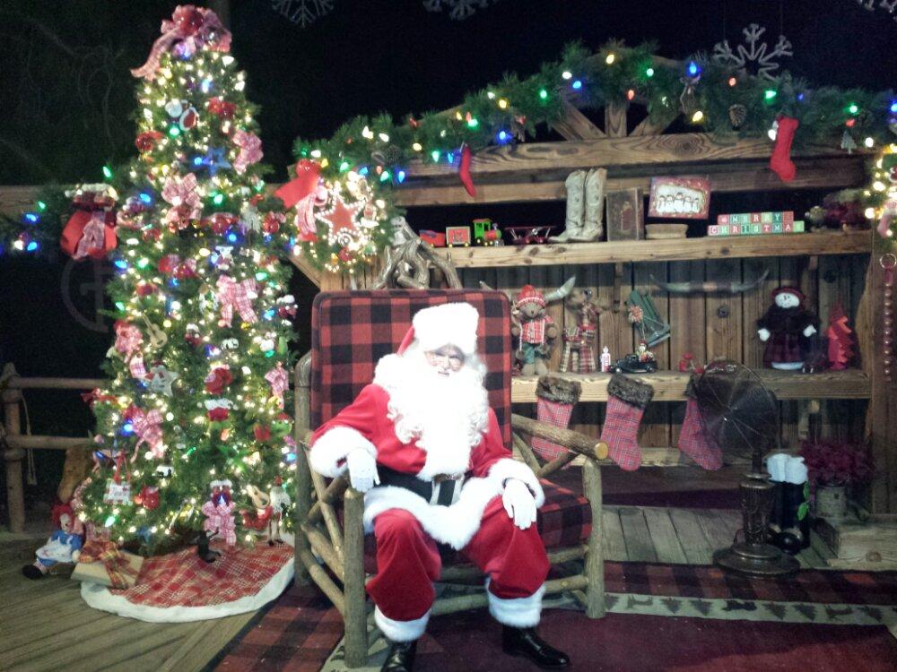 Santa at the Jingle Jangle Jamboree