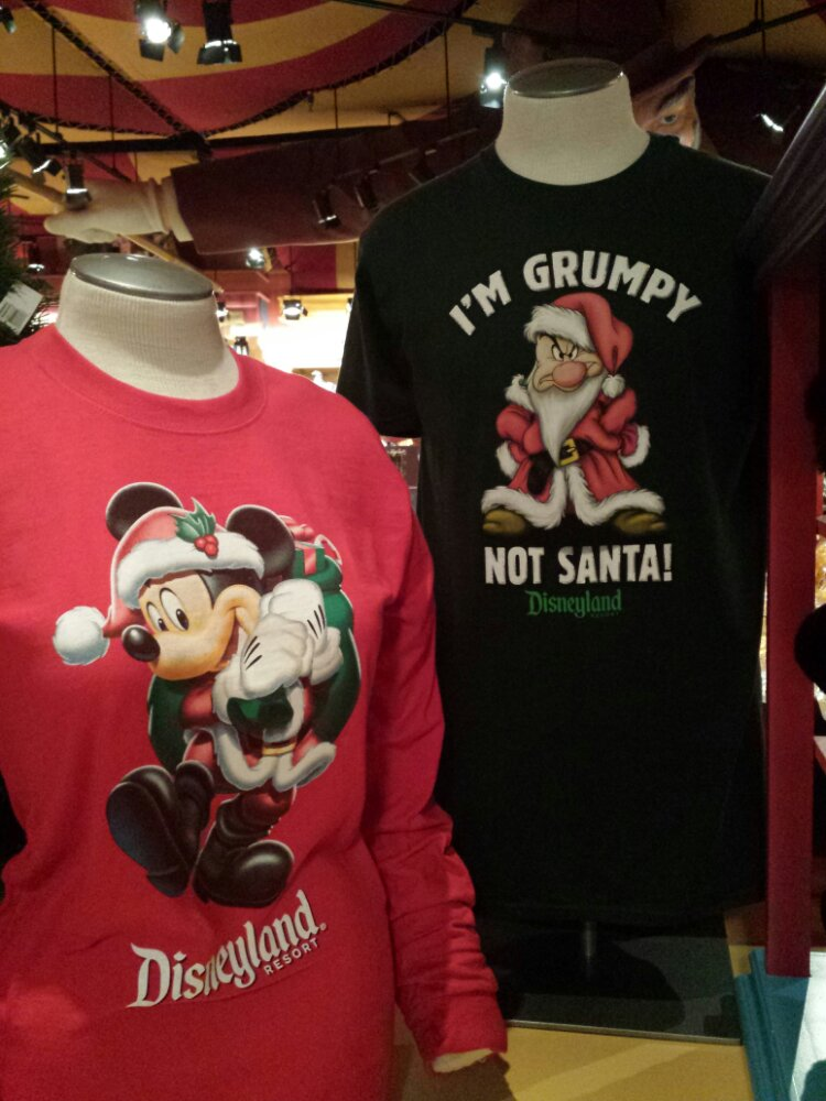 A couple of Christmas shirts in Sideshow Shirts