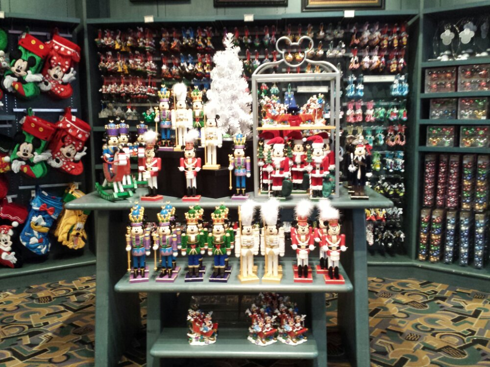 Christmas merchandise has taken over a good portion of Off the Page