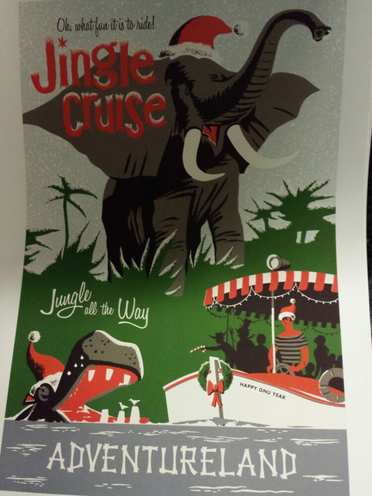 The Jingle Cruise poster