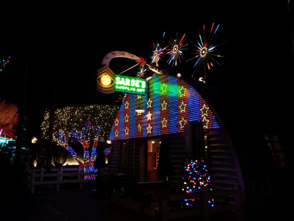 Sarge's Surplus Hut #CarsLand #DisneyHolidays